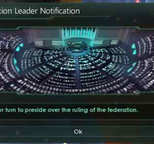Federation Leader Notification Mod Mod for Stellaris