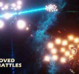 Improved Space Battles [Graphics] Mod for Stellaris
