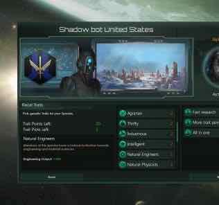More Trait Points 2.3 Mod for Stellaris