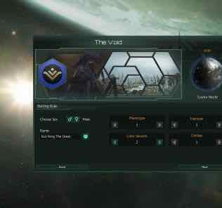 Creatures of the Void Variations Mod for Stellaris