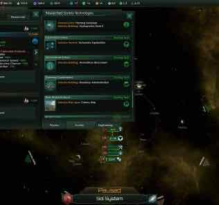 Exploration reworked Mod for Stellaris