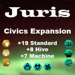 Juris Civics Expansion [2.2 Compatible] Mod for Stellaris