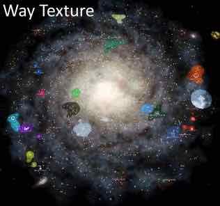 Milky Way Texture Mod for Stellaris