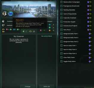 Planetary Rally Points Mod for Stellaris