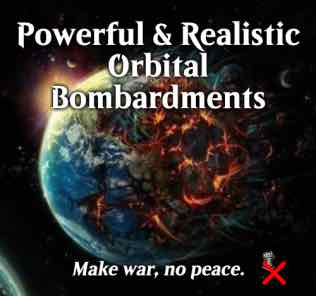 Powerful & Realistic Orbital Bombardments Mod for Stellaris