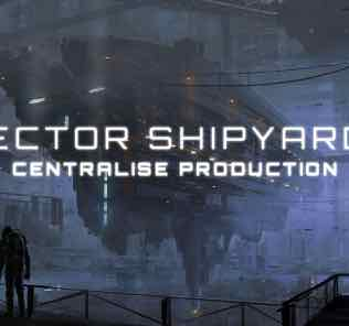 Sector Shipyards - Centralise Production [1.9] Mod for Stellaris