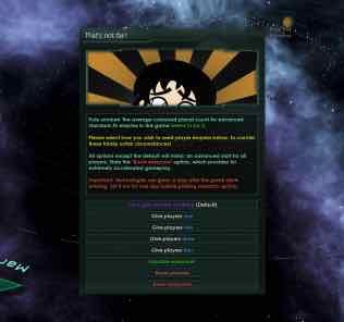 That's Not Fair! Mod for Stellaris