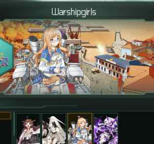 Warshipgirls x Kantai Collection Mod for Stellaris