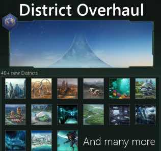District Overhaul Mod for Stellaris