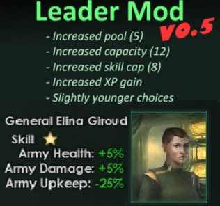 Fox Leader Mod Mod for Stellaris