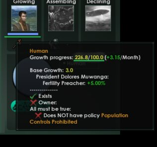 2.8 Defines For 2.7 Mods (Pop Growth Bug Fix) Mod for Stellaris