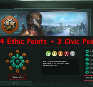 4 Ethic Points + 3 Civic Points Mod for Stellaris