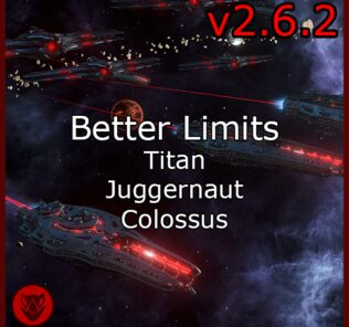Better Titan + Juggernaut + Colossus Limits – Fgraptor Mod for Stellaris