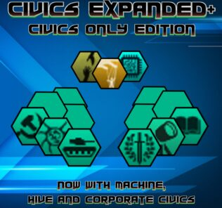Civics Expanded: Civics Only Mod for Stellaris