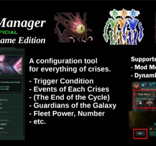 Crisis Manager – End-Game Edition [Unofficial] Mod for Stellaris