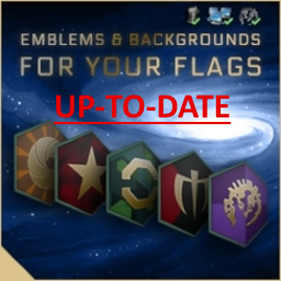 Flags: Emblems & Backgrounds Up-To-Date Mod for Stellaris