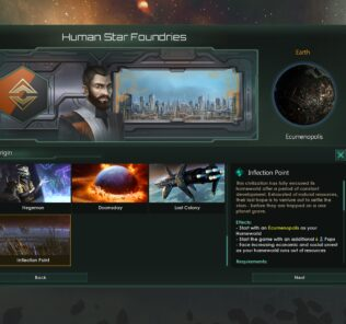 Inflection Point – Ecumenopolis Origin Mod Mod for Stellaris