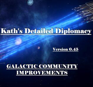 Kath'S Detailed Diplomacy Mod for Stellaris