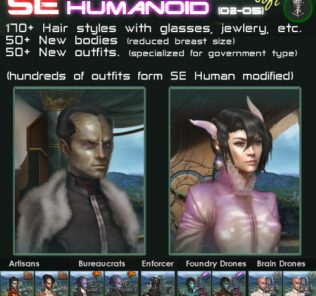Se – Humanoid – Soft Mod for Stellaris