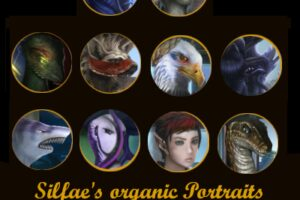 Silfae'S Portraits With Updated City Sets – Organics Mod for Stellaris