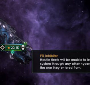 Titan Interdictor Module Mod for Stellaris