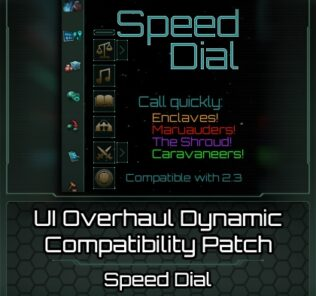 Ui Overhaul Dynamic + Speeddial Mod for Stellaris