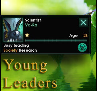 Young Leaders Mod for Stellaris